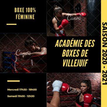 2ème créneau horaire pour un second cours Boxe Feminine
