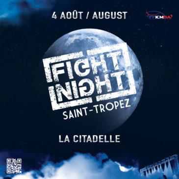 Fight Night  à Saint-Tropez / Bakari en attente d'un adversaire