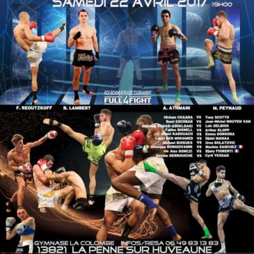 Nawel et Bertrand a l'affiche du Simply The boxe le 22 avril