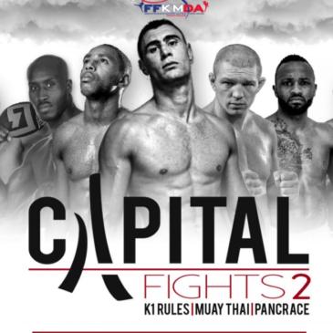 Yannick a l'affiche du CapitalFight 2…