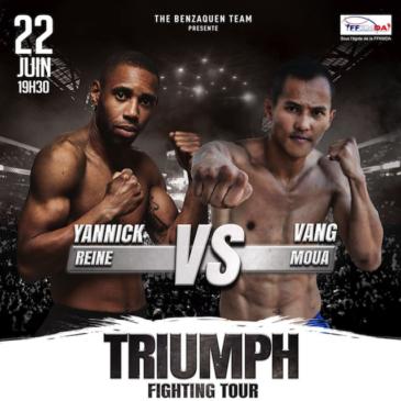 Prochain combat de Yannick le 22 juin
