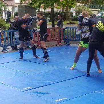 Démonstration de Boxe Anglaise et de Boxe pieds-poings