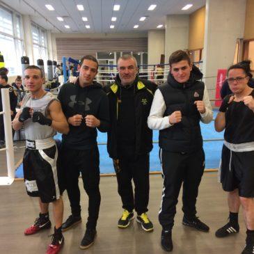 Boxe Anglaise : Samedi 16 Décembre