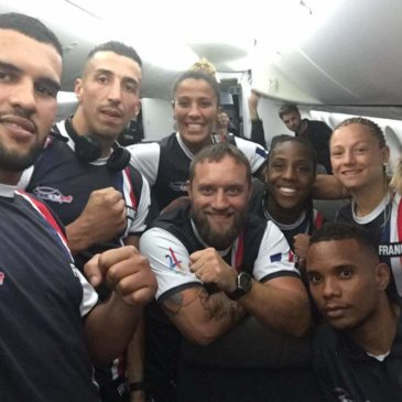 Amine Kebir, notre poids lourd, avec l'équipe de France c'est envolé pour le Mexique
