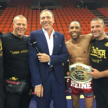 Yannick conserve sa ceinture de Champion du Monde ISKA des -63,5Kgs