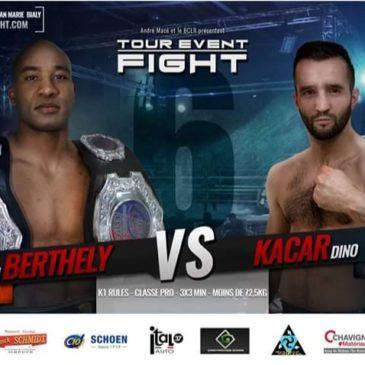Christian «titi»  Berthely au Tour Event Fight 6